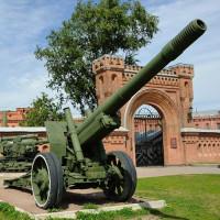 Kanon aan het Artillerie museum