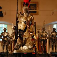 Harnas in het Artillerie museum