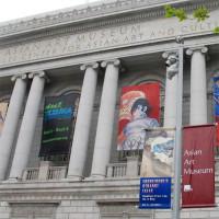 Buiten aan het Asian Art Museum