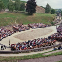 Arena van amfitheater