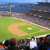 Speelveld van AT&T Park