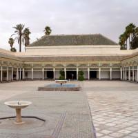 Binnenplein van het Bahia-paleis