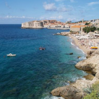 Banjestrand bij Dubrovnik