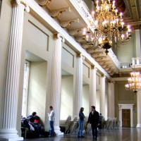 Binnen in het Banqueting House