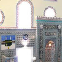 Binnen in de Banya Bashi-moskee