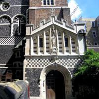 Deur van St. Bartholomew-the-Great