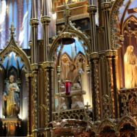 Ornamenten in de Basilique Notre-Dame