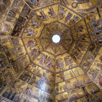 Plafond van het Battistero di San Giovanni