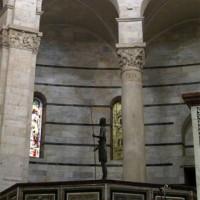 Binnen in het Battistero