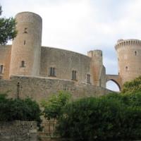 Muren van het Castell de Bellver