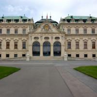 De Belvedere van Wenen