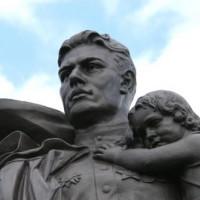 Standbeeld in Treptower Park