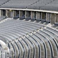 Tribunes in het Olympiastadion