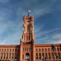 Totaalbeeld van het Rotes Rathaus