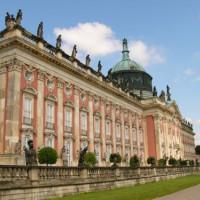 Hoofdgebouw van het Schloss Sanssouci