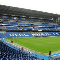 Grasmat van het Estadio Santiago Bernabeu