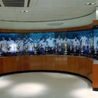 Trofeeën in het Estadio Santiago Bernabeu