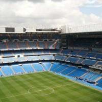 Tribune van het Estadio Santiago Bernabeu