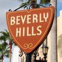 Naambord van Beverly Hills