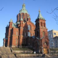 Totaalbeeld van de Uspenskikathedraal