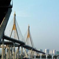 Bruggen in Bangkok