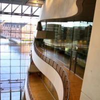 Binnen in de Koninklijke Bibliotheek