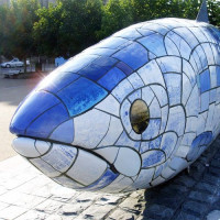 Close up van Big Fish