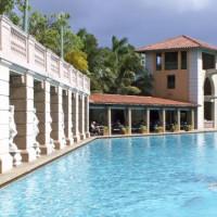 Zwemmer aan het Biltmore Hotel
