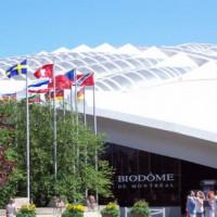 Vlaggen aan de Biodome