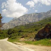 De berg Biokovo