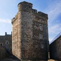 Totaalbeeld van Blackness Castle