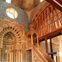 Interieur van de Blauwe Moskee