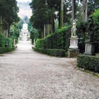 Pad in de Boboli-tuin