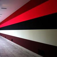 Beschilderde muur