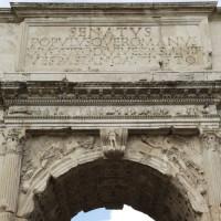 Opschrift op de Boog van Titus