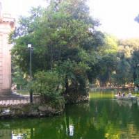 Prieel bij Villa Borghese