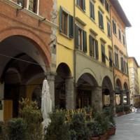 Zicht over Borgo Stretto