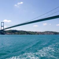 Beeld van de Bosporusbrug