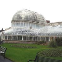 Zicht op Botanic Gardens