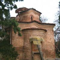 Beeld van de Boyanakerk