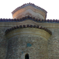 Detail van de Boyanakerk