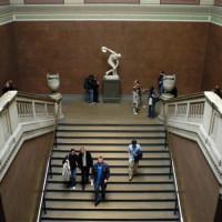 Trappen in het British Museum