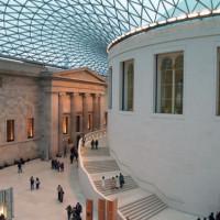 Plafond van het British Museum