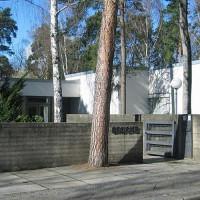 Ingang van het Brücke-Museum