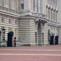 Wachters voor Buckingham Palace