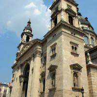 Zicht op de Sint-Stefanusbasiliek