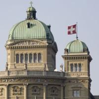 Bovenkant van het Bundeshaus