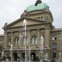 Fonteinen voor het Bundeshaus