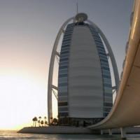 Beeld van de Burj al Arab