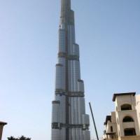 Beeld van de Burj Dubai